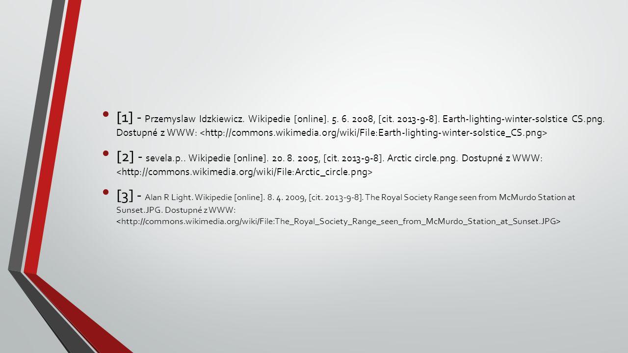 [1] - Przemyslaw Idzkiewicz. Wikipedie [online]. 5. 6. 2008, [cit